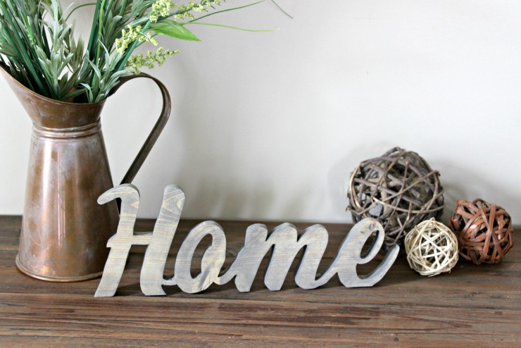 Rustic Home Sign I Pretty Handy Girl