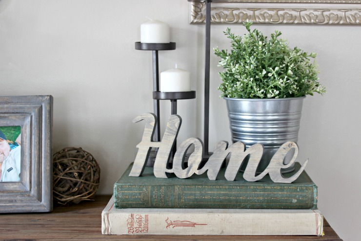 Rustic Home Sign I Pretty Handy Girl
