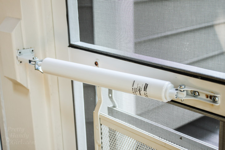 How to Replace a Screen Door Hydraulic Closer | Pretty Handy Girl
