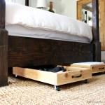 DIY Cedar Underbed Storage