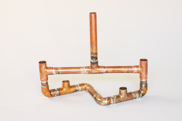 soldered-copper-pipe-centerpiece