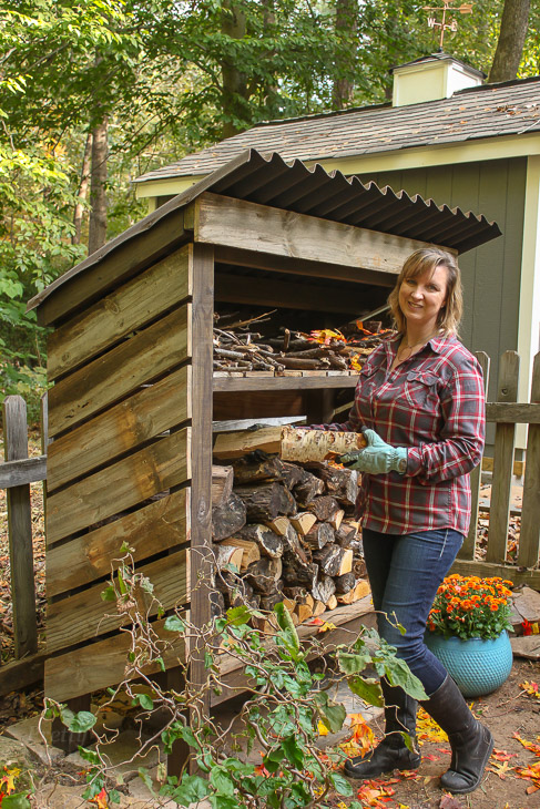 Build a Wood Storage Shed | Pretty Handy Girl  sc 1 st  Pretty Handy Girl & How to Build a Wood Storage Shed - Pretty Handy Girl
