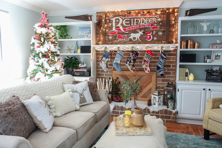 living-room-rustic-sleigh-ride-mantle-horizontal