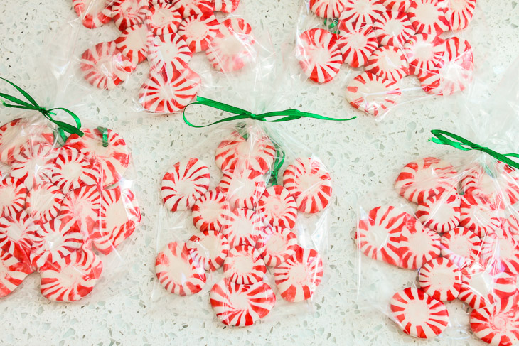 Gifts from your Kitchen - Peppermint Snowflake Ornaments