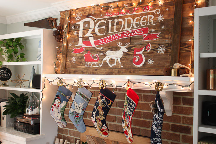 reindeer-sleigh-rides-rustic-wood-sign