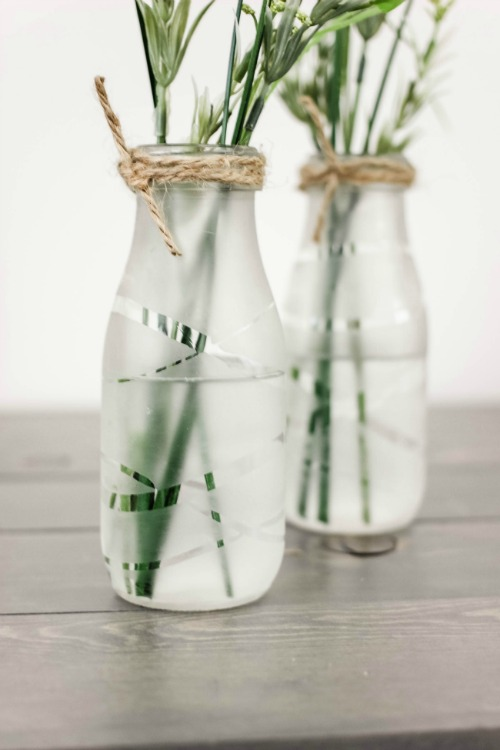 Diy Glass Etched Vases Pretty Handy Girl