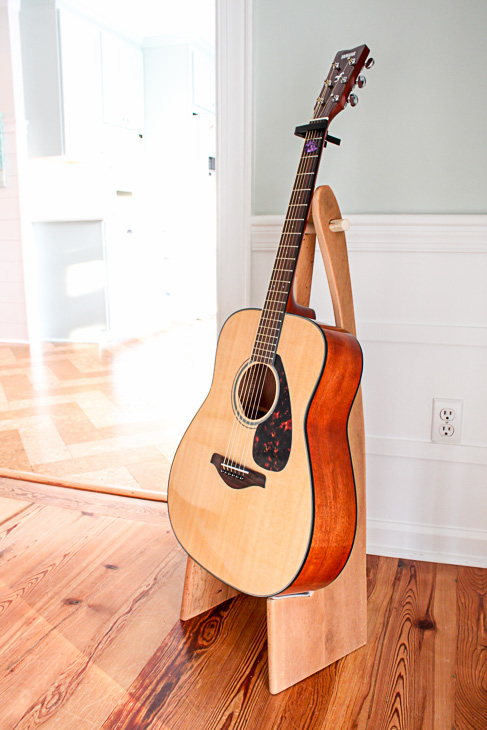 DIY Folding Guitar Stand | Pretty Handy Girl