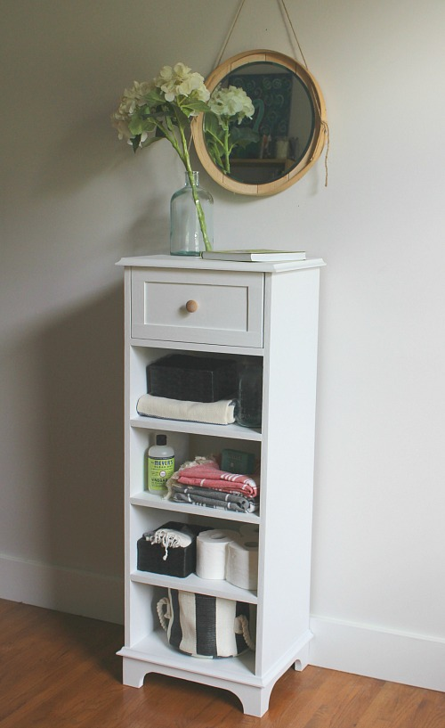 Tall and Skinny Storage Cabinet