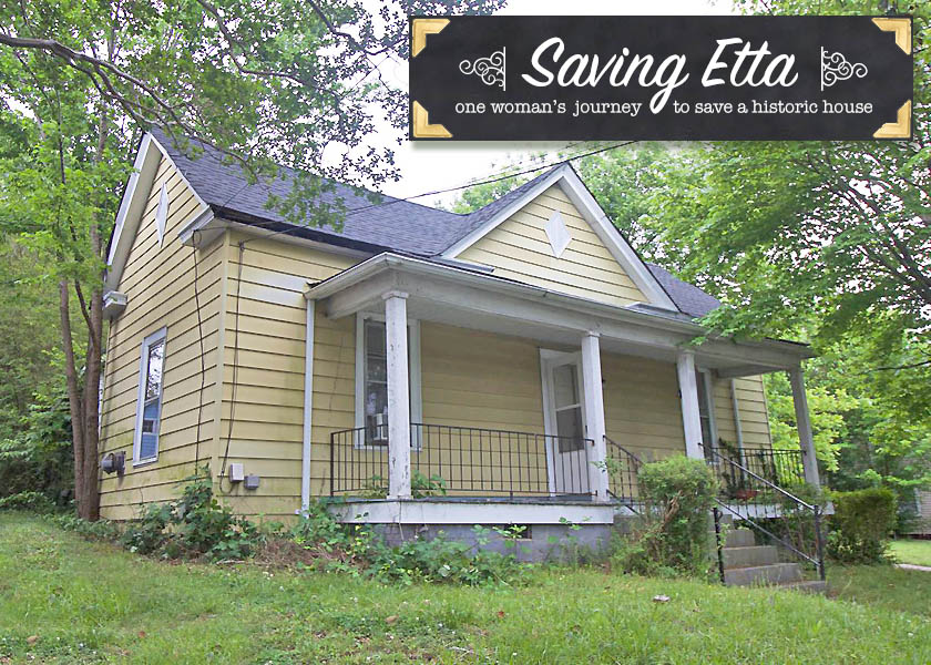 Saving Etta - One Woman's Journey to Save a House Built in 1900 | Pretty Handy Girl