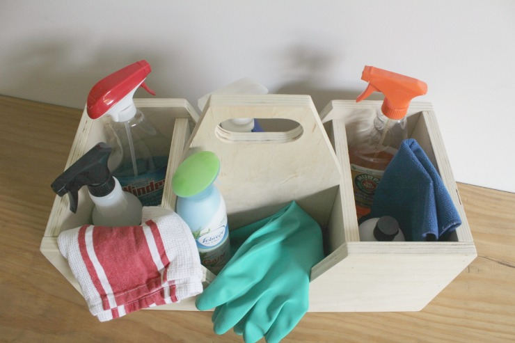 How to build an easy scrap wood multiuse caddy