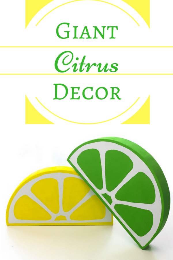 Decorate for summer with these fun citrus slices!