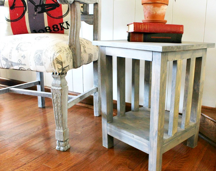 DIY Side Table Plans Pretty Handy Girl
