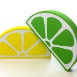These giant citrus slices are a fun pop of color for any decor!