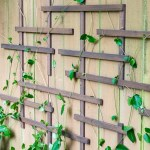 DIY Fence Trellis