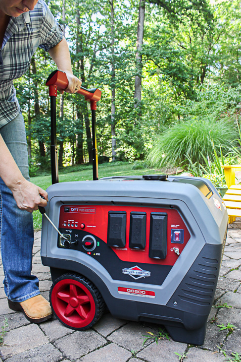 How to Safely Use and Store a Generator | Pretty Handy Girl