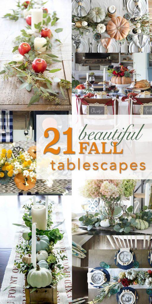 Beau 21 Beautiful Fall Table Decorations