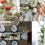 21 Beautiful Fall Table Decorations