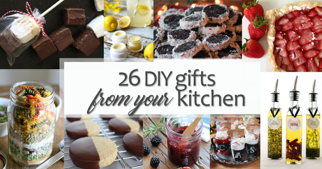 26 Creative DIY Gifts from Your Kitchen - Pretty Handy Girl