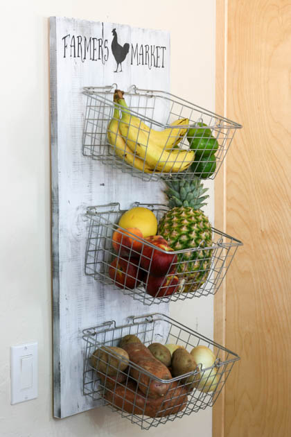 diy produce rack