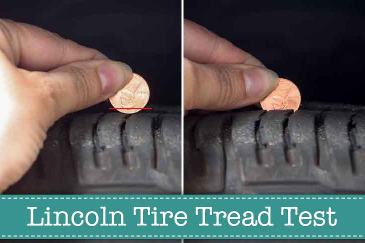Lincoln Tire Tread Test