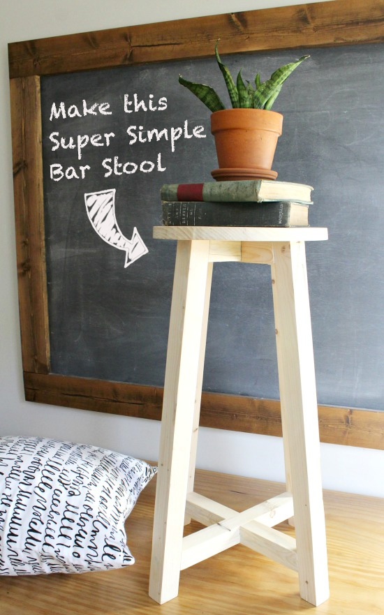 How to Make a Super Simple Bar Stool