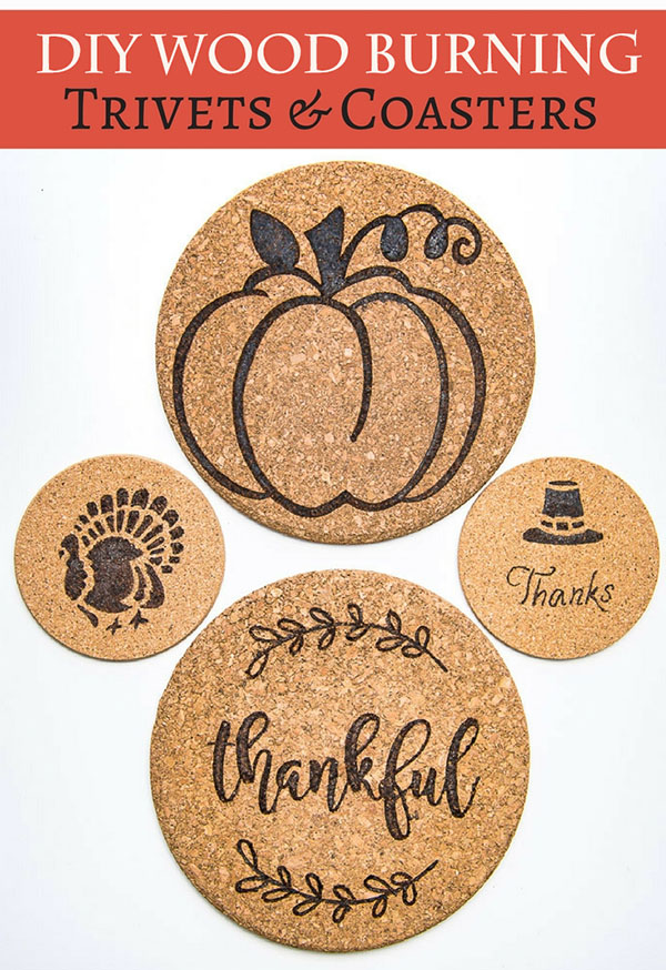 Diy Wood Burning Trivets And Coasters Pretty Handy Girl