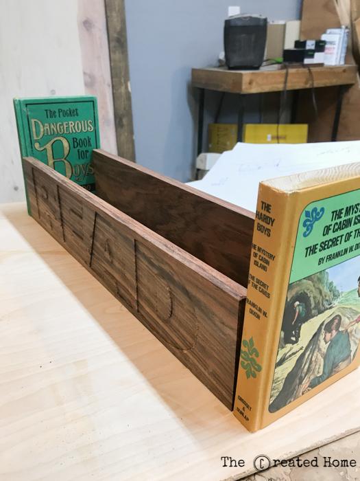 DIY Library Book Box Tutorial