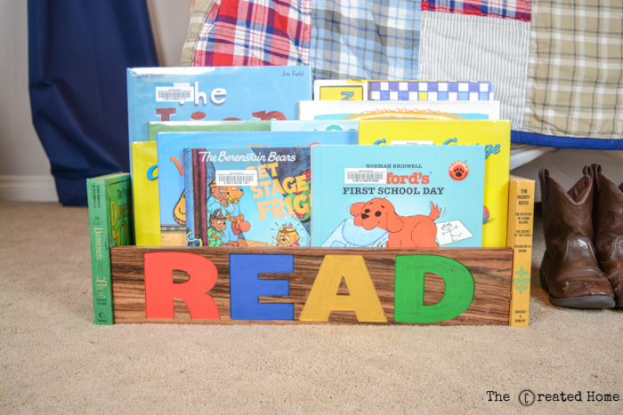 DIY Library Book Box