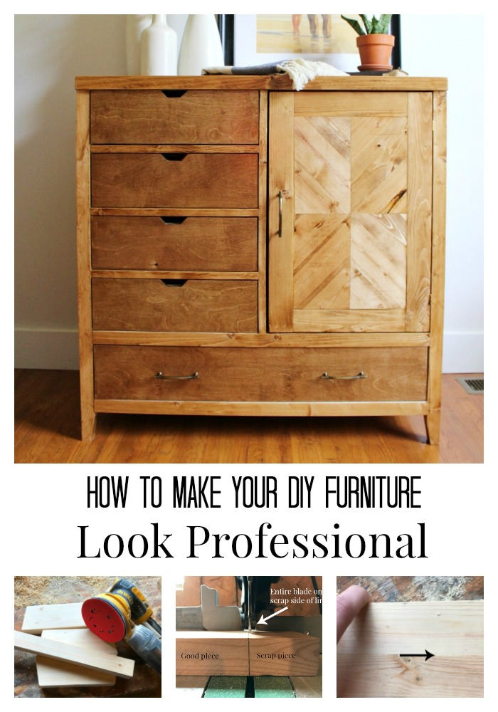 5 Tips To Building Professional Looking Furniture Pretty Handy Girl