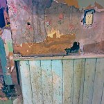 Saving Etta - wallpaper & beadboard
