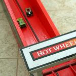 red matchbox toy ramp