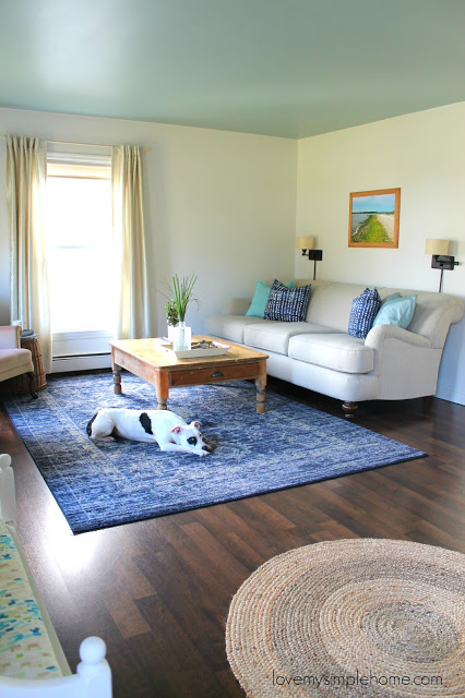 Love My Simple Home Coastal Living Room