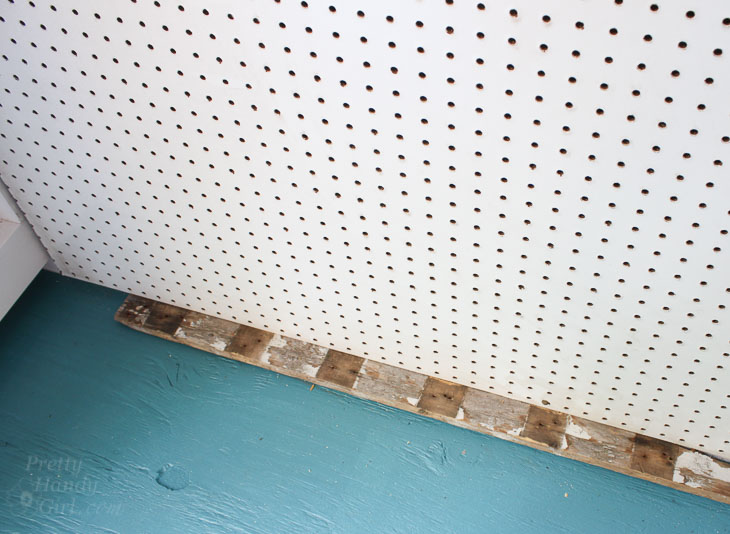 How to Install PegBoard Walls | Pretty Handy Girl