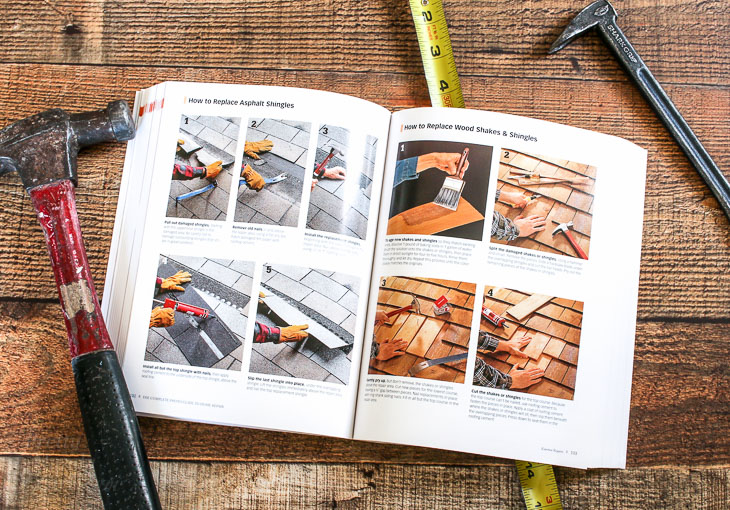 Home Repair Book - roofing example