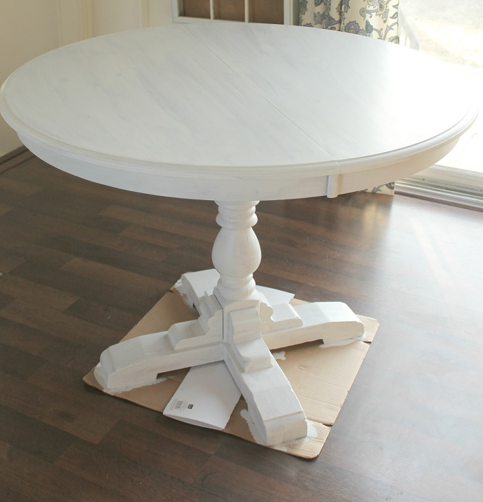 How to Paint a Laminate Table Top - Pretty Handy Girl