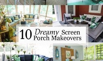 dreamy screen porch makeovers pinterest image
