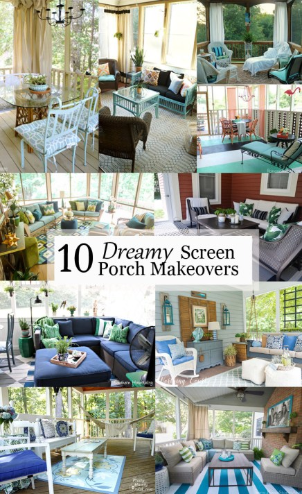 DIY Screen Porch Makeovers