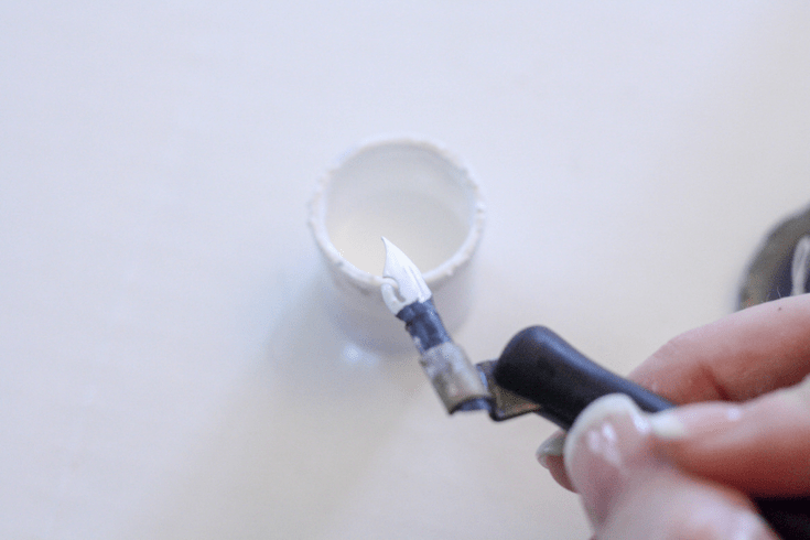 Make Your Own Agate Place Cards