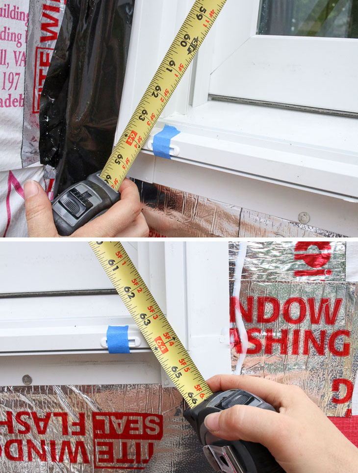 check window diagonals for plumb and level