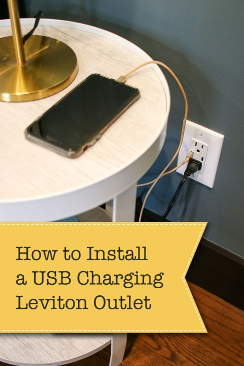 How To Install A Usb Charging Outlet