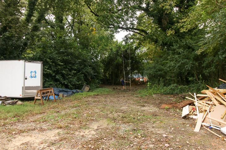 before backyard transformation
