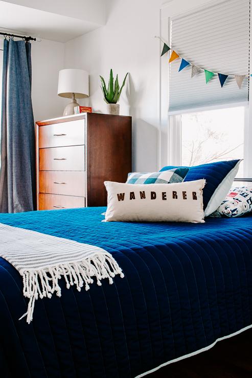 DIY Felt Letter Pillow Cover Tutorial