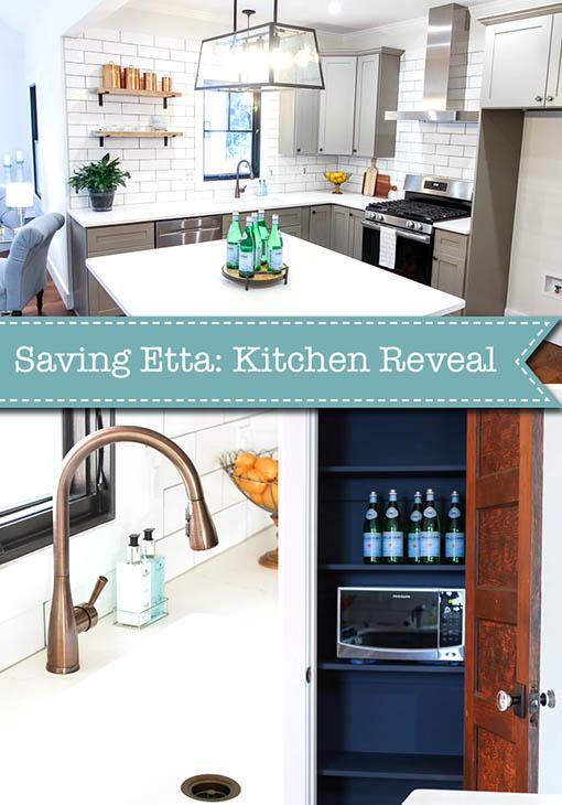 Saving Etta: Kitchen Reveal