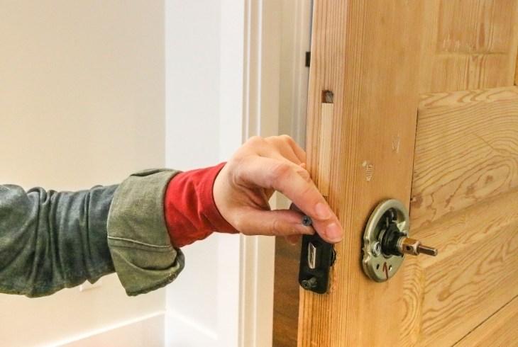 Add New Door Knob Hardware
