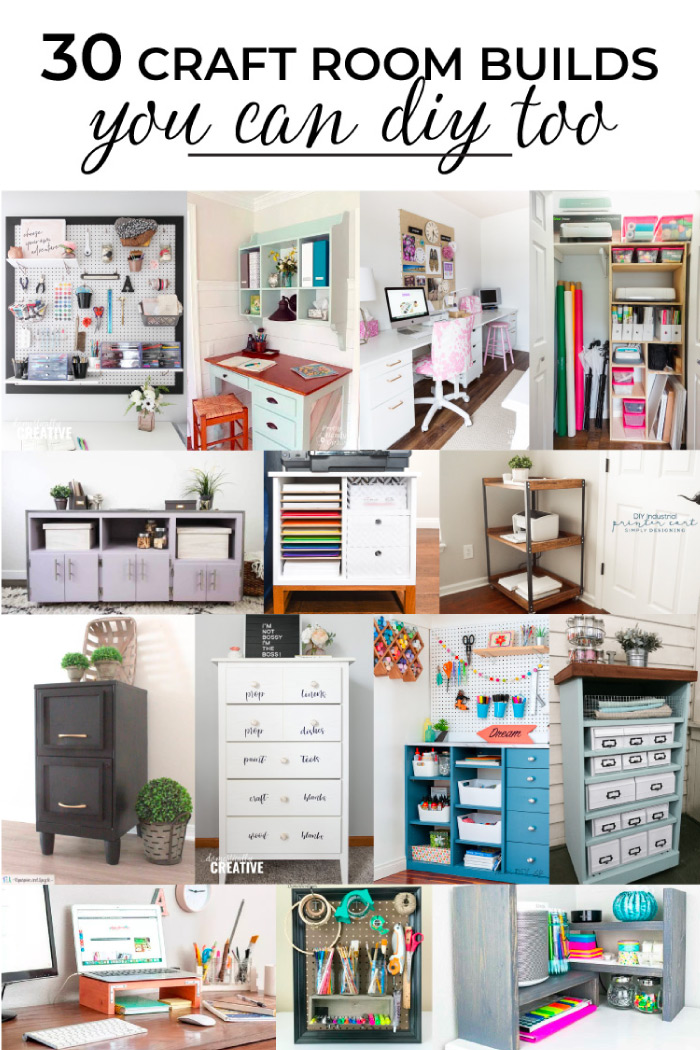 30 Creative Craft Room Builds You Can Diy Pretty Handy Girl