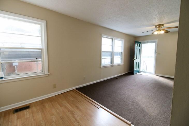 Millie's Remodel: Living Room Before