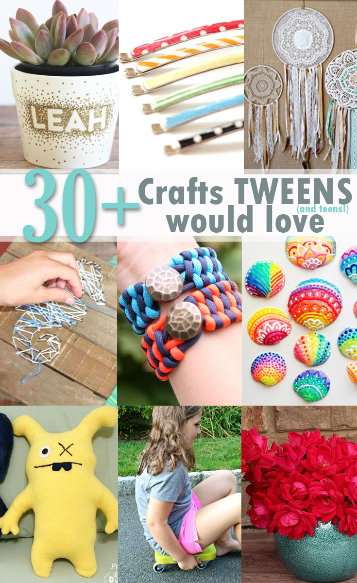 30 crafts teens would love pinterest image