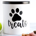 Diy Dog Treat Tin