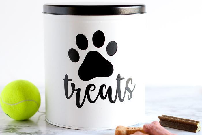 Diy Dog Treat Tin