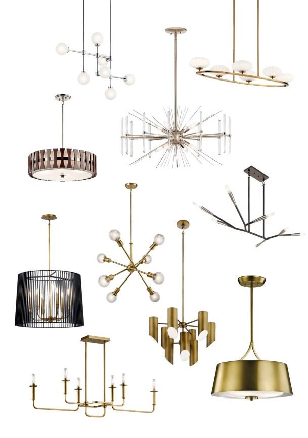 Mid Century Modern Lighting Options For Millie S Remodel